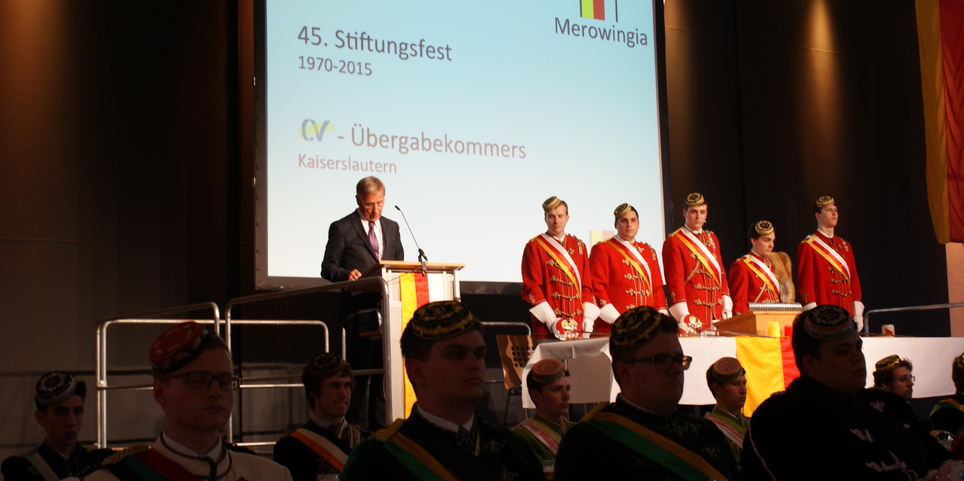 45. Stiftungsfest Merowingiae